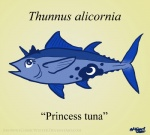 alternate_species blue_skin browniecomicwriter female fish friendship_is_magic humor latin marine my_little_pony princess_luna_(mlp) pun simple_background solo tuna what yellow_background  Rating: Safe Score: 9 User: BrownieComicWriter Date: September 21, 2015