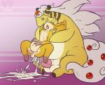 ampharos anal anal_penetration balls big_dom_small_sub big_penis crossover cum cum_in_ass cum_inflation cum_inside cum_on_ground cum_splatter cum_squirt digimon digital_media_(artwork) duo erection excessive_cum eyes_closed fan_character featureless_arms featureless_limbs feral from_behind horn inflation larger_male looking_down male male/male mega_ampharos mega_evolution neopatamonx nintendo nipples open_mouth orgasm_face overweight patamon penetration penis pokémon rathmutatio sex shallow_penetration sheath signature sitting size_difference smaller_male smirk tight_fit video_games  Rating: Explicit Score: 8 User: Circeus Date: January 13, 2015