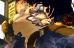 anthro chisa cigarette clothed clothing cybernetics cyborg feline grin machine male mammal mecha muscular penis robot smoke smoking solo tiger topless wallpaper  Rating: Explicit Score: 7 User: mj Date: September 30, 2012