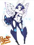 2016 3_fingers 4_eyes 4_wings abdomen anemone_(thescarletdevil) animal_humanoid antennae arm_tuft arthropod biped black_exoskeleton black_spots blue_exoskeleton blue_eyes blue_fur blue_hair blue_spots blush breasts butterfly_wings cleavage clothed clothing compound_eyes digital_drawing_(artwork) digital_media_(artwork) digitigrade exoskeleton eyelashes featureless_breasts featureless_crotch female fingerless_(marking) fluffy front_view full-length_portrait fur gloves_(marking) gradient_eyes grey_spots hair half-closed_eyes humanoid humanoid_hands insect insect_humanoid insect_wings japanese leaning leaning_forward leg_tuft looking_at_viewer markings medium_breasts moth moth_humanoid multi_eye multi_wing multicolored_exoskeleton multicolored_eyes multicolored_fur multicolored_wings neck_tuft nude pattern_background pink_eyes portrait pose pseudo_clothing purple_spots ryo_agawa short_hair simple_background slim small_waist smile socks_(marking) solo spots spotted_exoskeleton spotted_fur spotted_wings spread_wings standing toeless_(marking) translucent translucent_wings tuft two_tone_eyes two_tone_fur url voluptuous watermark white_background white_exoskeleton white_fur white_spots winged_humanoid wingsRating: SafeScore: 13User: DiceLovesBeingBlownDate: September 07, 2017
