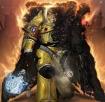 2014 anthro armor cape clothing corruption feline fire gauntlets hammer hi_res male mammal pauldrons power_armor solo strype_(character) tiger tools warhammer_(franchise) zomacaius  Rating: Safe Score: 5 User: Numeroth Date: June 03, 2014""