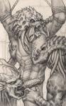 alien bound dreadlocks erection group group_sex humanoid licking lurelin male male/male mandibles monochrome nude penis predator_(franchise) sex threesome tongue tongue_out unusual_penis yautja  Rating: Explicit Score: 14 User: Determinator Date: May 27, 2015