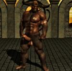 2014 3d 5_toes abs anthro balls barefoot biceps big_muscles black_howler bovine brown_fur brown_penis brown_skin cgi erection facial_piercing front fur hair half-closed_eyes horn human_feet humanoid_penis looking_at_viewer male mammal minotaur mohawk muscles navel nipples nose_piercing nose_ring nude open_mouth paws pecs penis piercing pinup plantigrade pointy_ears pose precum red_eyes seductive shadow short_hair sky solo standing tattoo teeth toes   Rating: Explicit  Score: 12  User: lizardlover  Date: June 27, 2014