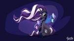 16:9 2013 blue_eyes cutie_mark diamond_(gem) digital_media_(artwork) equine female feral friendship_is_magic gem hair hi_res horn jewelry magic mammal multicolored_hair my_little_pony mysticalpha necklace nightmare_rarity_(idw) purple_hair rarity_(mlp) sitting solo sparkle two_tone_hair white_hair widescreen winged_unicorn wings ♦  Rating: Safe Score: 8 User: 2DUK Date: July 24, 2013