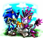 blaze_the_cat book cat cream_the_rabbit feline hedgehog lagomorph mammal rabbit sega sonic_(series) sonic_the_hedgehog   Rating: Safe  Score: 1  User: RadDudesman  Date: February 08, 2014