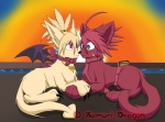 adell cat couple cute disgaea disgaea_2 duo eye_contact feline female feral male male/female mammal noridragon rozalin scar smile   Rating: Safe  Score: 0  User: Sods  Date: December 25, 2011