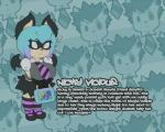 anthro barkin_mad bat big_breasts biography blue_hair breasts clothed clothing cute female hair lunchbox mammal necktie nicky_vicious oppai_loli school_uniform skirt slit_pupils smutbunny sweat uniform young  Rating: Safe Score: 3 User: SmutBunny Date: February 05, 2014