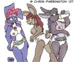 2007 anthro bigger_version_at_the_source blue_fur blue_hair bottle breasts brown_fur brown_hair diaper female fur grey_fur grey_hair group hair infantilism kelvinthelion lagomorph mammal nipples nude pacifier rabbit simple_background  Rating: Questionable Score: 1 User: letmerok Date: September 28, 2013
