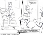 anthro breasts chubby clothed clothing comic duo faf fafcomics female hetty monochrome   Rating: Safe  Score: 2  User: GameManiac  Date: March 05, 2015