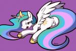 anatomically_correct anatomically_correct_pussy anus blue_hair clitoris cutie_mark equine female friendship_is_magic hair half-closed_eyes hooves horn horse looking_at_viewer looking_back mammal multicolored_hair my_little_pony open_mouth pony princess_celestia_(mlp) pussy simple_background smile solo tiara tongue two_tone_hair whatsapokemon white_skin wings  Rating: Explicit Score: 14 User: EmoCat Date: August 21, 2015