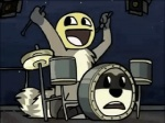 2007 ambiguous_gender animated awesome_face drums looking_away loop low_res meme open_mouth raccoon rockoons smile solo tirrel   Rating: Safe  Score: 12  User: Lulztron  Date: October 02, 2011