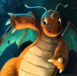 2018 ambiguous_gender black_eyes blue_background claws dragonite front_view hi_res horn kenket membranous_wings nintendo orange_skin painting_(artwork) pokémon pokémon_(species) scales shaded simple_background solo spread_wings teal_skin traditional_media_(artwork) url video_games white_scales wingsRating: SafeScore: 6User: TheGreatWolfgangDate: May 11, 2018