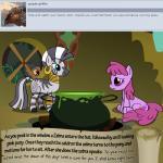 berry_punch_(mlp) bitterplaguerat climbing earth_pony equine friendship_is_magic horse ill kettle loki_(bitterplaguerat) mammal mask my_little_pony pony potion text window yellow_eyes zecora_(mlp)Rating: SafeScore: 0User: Aryanne_HooflerDate: April 25, 2017