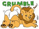 bark!_(artist) diaper feline female lion mammal solo  Rating: Safe Score: 0 User: treos Date: April 26, 2015