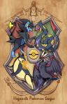 braviary crossover escavalier feline feral harry_potter luxray mammal nintendo pokéball pokémon reptile scalie seviper snake source_request typhlosion unknown_artist video_games