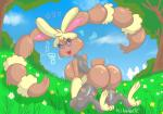 allannocte big_breasts breasts butt female flower happy invalid_tag lopunny meadow nintendo plant pokémon solo spring video_games  Rating: Questionable Score: 2 User: AllanNocte Date: July 03, 2015""