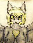 anthro blonde_hair breasts close-up derpy_hooves_(mlp) equine feathers friendship_is_magic fur hair hi_res kevin_s_rollins mammal my_little_pony pegasus portrait smile solo tongue tuft wings   Rating: Questionable  Score: 5  User: hakufan1984  Date: April 09, 2015