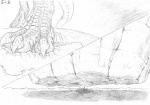 5-d ambiguous_gender building city claws feral giant greyscale hindpaw huge_feet macro micro monochrome paws pencil_(artwork) planet reptile scalie size_difference solo stomping talons traditional_media_(artwork)   Rating: Safe  Score: 4  User: dragonrump  Date: August 05, 2013