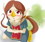 avian beak bird fart female gas medli nintendo red_eyes rito solo the_legend_of_zelda video_games wind_waker   Rating: Questionable  Score: 2  User: fulldiapers  Date: October 07, 2014