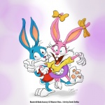 babs_bunny blue_eyes blue_fur bow buster_bunny cartoon couple dark_clefita female fur insane lagomorph male mammal pink_fur rabbit tiny_toon_adventures tiny_toons toon toony warner_brothers   Rating: Safe  Score: 0  User: 666e  Date: November 09, 2012