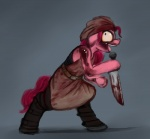 2013 absurd_res apron belt blood clothing earth_pony equine female friendship_is_magic fur gordonfreeguy hair headband hi_res horse insane knife mammal my_little_pony open_mouth pink_fur pink_hair pinkie_pie_(mlp) pony simple_background solo  Rating: Questionable Score: 6 User: Falord Date: August 13, 2013