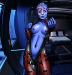 5_fingers alien asari blue_eyes blue_skin breasts female humanoid mass_effect not_furry oni oni_(artist) outfit pussy rubber samara solo teasing video_games   Rating: Explicit  Score: 5  User: h4x0r  Date: October 05, 2014