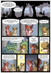 2017 anthro blue_eyes brown_fur canine chest_tuft clothed clothing comic dialogue duo_focus english_text farin forest fox fur geminisaint group hair_over_eyes male mammal multicolored_fur nipples orange_fur overweight pawpads pointing red_fur silhouette slim sneaking tan_fur text topless tree tuftRating: SafeScore: 11User: JugofthatDate: December 18, 2017