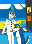 """anthro blue_fur canine ciel-wolf duo eyewear food fur goggles ice male male/male mammal penis popsicle scarf snowman what wolf  Rating: Explicit Score: -3 User: CielWolf Date: June 22, 2015"""""""