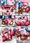 alien bed blue_eyes blush boots box_xod cum cumshot duo gloves happy hat herm intersex japanese_text kirby kirby_(series) kissing marx nintendo open_mouth orgasm penis pussy sex smile text tongue translated video_games wings   Rating: Explicit  Score: 0  User: nightwolf000  Date: August 02, 2014