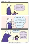 ambiguous_gender brown_hair canine caprine dog english_text female goat hair human mammal protagonist_(undertale) text toriel undertale  Rating: Safe Score: 14 User: Nuji Date: October 09, 2015