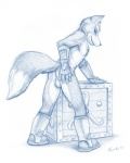 anthro balls boots butt canine crate fox fox_mccloud looking_at_viewer male mammal nintendo presenting raised_tail solo star_fox taurin_fox video_games   Rating: Explicit  Score: 11  User: BasedDook  Date: February 25, 2013