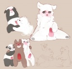 :3 anthro balls barefoot bear blush brother cartoon_network covering_eyes cute erection eyes_closed fellatio fur grizzly_(character) grizzly_bear group group_sex ice_bear incest kissing knot looking_at_viewer looking_away looking_down lying male male/male mammal nude on_back oral panda panda_(character) pawpads paws penis penis_kissing polar_bear sex shy sibling sitting smile spread_legs spreading standing teeth threesome tingtongten we_bare_bears  Rating: Explicit Score: 13 User: Tuck_In_Those_Glutes Date: August 11, 2015