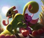 ambiguous_gender anal anthro balls bat chameleon cum cum_on_ground duo erection eyes_closed hi_res ikiki laylee lizard looking_back male mammal oral penis reptile rimming scalie sex size_difference tongue tongue_out yooka yooka-layleeRating: ExplicitScore: 62User: PokelovaDate: April 23, 2017