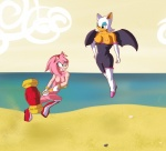 amy_rose anthro bat beach boots breasts duo female fight gloves hair hammer hedgehog mammal mixofoss nipples nude outside pink_hair rouge_the_bat sand sea seaside sega sky sonic_(series) tools water white_hair wings   Rating: Explicit  Score: 0  User: DaVinci  Date: June 26, 2012