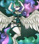 anthro anthrofied breasts clothing collar equine female friendship_is_magic horn horse lingerie mammal my_little_pony poisindoodles pony princess_celestia_(mlp) solo winged_unicorn wings   Rating: Questionable  Score: 7  User: Sinwolf13  Date: February 06, 2015