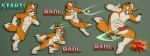 animal_genitalia anthro balls blood canine canine_penis castration critical_hit fox fox_mccloud gore kuma_kun male mammal nintendo penis star_fox video_games   Rating: Explicit  Score: -10  User: kymara  Date: November 04, 2012