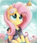 arthropod bee bugplayer butterfly clothing cloud cutie_mark cyan_eyes day equine eyewear female fluttershy_(mlp) friendship_is_magic fur goggles grass hair hoodie insect long_hair mammal my_little_pony outside pegasus pink_hair sitting smile solo teeth wings yellow_fur  Rating: Safe Score: 2 User: Millcore Date: July 01, 2016