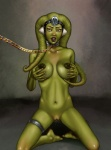 breasts chain female green_body humanoid nude oola slave solo star_wars twi'lek umbrafox   Rating: Explicit  Score: 8  User: SarcasticMidget  Date: December 30, 2011