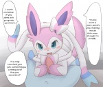 blush canine crossdressing cute dialogue duo eeveelution english_text erection faceless_male feral first_person_view glaceon itameshi male male/male mammal nintendo oddly_sexy penis pokémon precum sylveon text video_games  Rating: Explicit Score: 49 User: RioluKid Date: July 29, 2013""