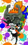 female hair ink looking_at_viewer midna nintendo orange_hair red_eyes solo splatoon the_legend_of_zelda twilight_princess unknown_artist video_games  Rating: Safe Score: 7 User: Juni221 Date: August 10, 2015