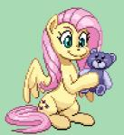 2016 <3 animated blinking cute cutie_mark digital_media_(artwork) equine feathered_wings feathers female feral fluttershy_(mlp) friendship_is_magic hair low_res mammal my_little_pony nauthleroy pegasus pink_hair pixel_(artwork) pixel_animation plushie simple_background sitting smile solo wings  Rating: Safe Score: 13 User: Egekilde Date: May 01, 2016