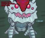 balls cho'gath claws depth_of_field dialogue erection feral foreshortening kog'maw league_of_legends male male/male open_mouth opthree penis precum size_difference tailwag text video_games   Rating: Explicit  Score: 5  User: opthreee  Date: April 28, 2015