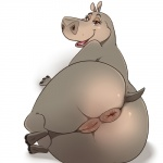anus big_butt butt chubby dreamworks female gloria_(madagascar) hippopotamus lonbluewolf madagascar mammal presenting puffy_anus pussy raised_tail solo  Rating: Explicit Score: 56 User: Daneasaur Date: August 30, 2015