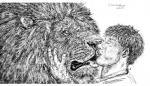 bestiality dakota-bear feline feral human interspecies kissing lion male male/male mammal   Rating: Questionable  Score: 3  User: Vinea  Date: May 03, 2015