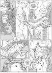 anal anal_penetration caprine comic dialogue erection furronika goat hi_res horn male male/male mammal monochrome open_mouth penetration sex  Rating: Explicit Score: 7 User: derptron5000 Date: January 01, 2016