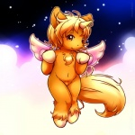 anthro chibi cute equine hair hooves horn looking_at_viewer male mammal maverick orange_eyes solo source_request winged_unicorn wings  Rating: Questionable Score: 7 User: Chikita Date: December 23, 2012