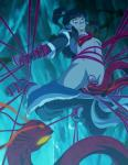 ambiguous_gender avatar:_the_last_airbender female hi_res human korra mammal not_furry sex solo_focus tentacles the_legend_of_korra zone  Rating: Explicit Score: 7 User: my_bad_english Date: February 04, 2016