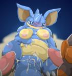 after_sex blush breasts cum cum_in_ass cum_in_pussy cum_inside erection faceless_male female feral group hi_res male male/female mammal nidoqueen nintendo nipples nude open_mouth penis pokémon pokémon_(species) pussy rhydon rhyperior simple_background solo_focus type video_gamesRating: ExplicitScore: 9User: behverzhDate: October 29, 2017