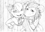 animal_crossing black_and_white cat feline monochrome nintendo pencil porcupine quixoticallyerotic rodent sable_able sketch tangy video_games   Rating: Safe  Score: 2  User: Hummery  Date: July 14, 2013