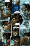 anus balls bulge canine clothing comic erection eyes_closed female fondling kinojaggernov kissing male male/female mammal masturbation mustelid oral otter penis pussy swimming swimsuit text underwater water wolf   Rating: Explicit  Score: 11  User: HoboAssassin  Date: March 02, 2015